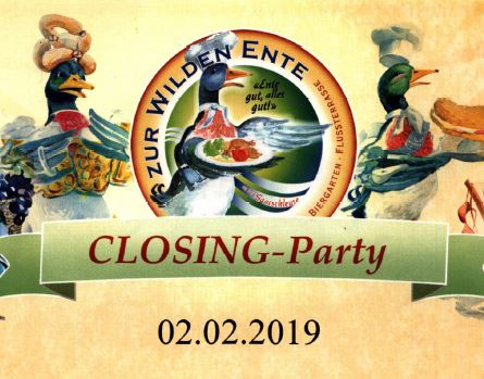 Closing Party 02.02.2019